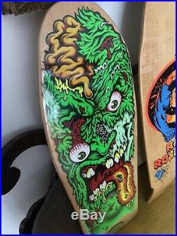 Santa Cruz Skateboards Lot NOS 30 Year Reissue Thirty Fcking Years 11 Decks