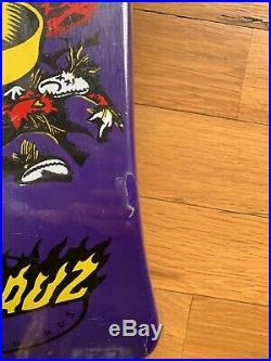Santa Cruz Skateboards NOS 30 Year Reissue Thirty Fcking Jeff Grosso