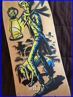 Santa Cruz Skateboards Ross Goodman Gravedigger Deck Original