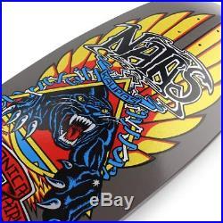 Santa Cruz Skateboards SMA Natas Panther Reissue Deck Candy Black