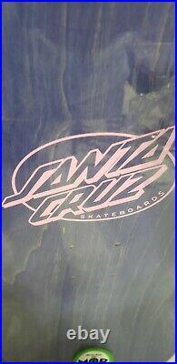 Santa Cruz Skateboards Salba Witch Doctor 2020 Reissue Deck Pink Matte Finish