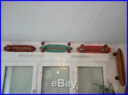 Santa Cruz Slalom Deck Pour Collection / Vintage Skateboard / Sims /g&s / 70's