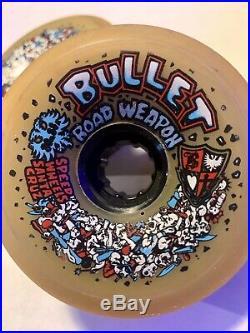 Santa Cruz Speed Wheels BULLET Road Weapon Vintage 80mm 88A Skateboard Wheels