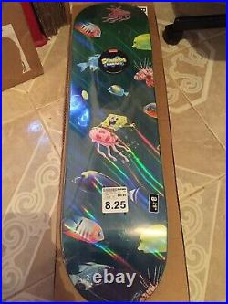 Santa Cruz Spongebob 25th Anniversary Skateboard 8.25 (Sealed-Rare Limited)