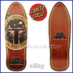 Santa Cruz Star Wars Boba Fett Limited Hand Inlay Skateboard