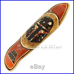 Santa Cruz Star Wars Boba Fett Limited Hand Inlay Skateboard Deck NEW! ON SALE
