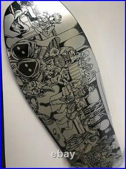 Santa Cruz Star Wars Celebration 2015 Skateboard Deck 2015 Signed by the Artist