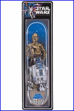 Santa Cruz Star Wars Droids C3PO R2D2 Collectible Skateboard Deck Limited Ed