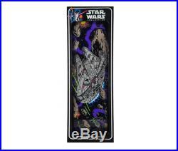Santa Cruz Star Wars Millennium Falcon Collectable 10.0 Skateboard Deck