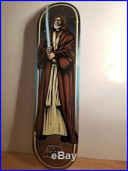 Santa Cruz Star Wars Obi-Wan-Kenobi Skateboard 32 x8.5 New in plastic