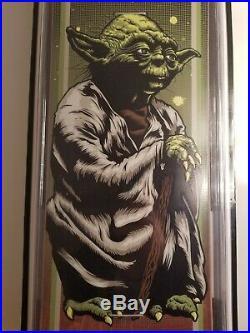 Santa Cruz Star Wars Yoda Skateboard Deck 31.6x8 #837