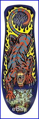Santa Cruz Steve Alba SALBA TIGER Skateboard Deck BLUE STAIN Out Of Print