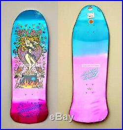 Santa Cruz Steve Alba SALBA Witch Doctor Metallic Fade Skateboard Deck 32 x 10.4