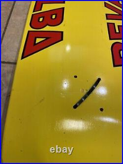 Santa Cruz Steve Alba Salba Bevel Skateboard Deck Reissued