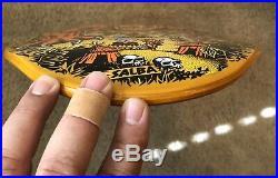 Santa Cruz Steve Alba Salba Tiger Autographed Skateboard