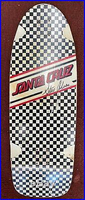 Santa Cruz Steve Olsen Ltd Powerply Old School Reissue Skateboard Deck