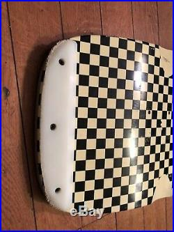 Santa Cruz Steve Olson Checkerboard Skateboard Deck Reissue from 2008