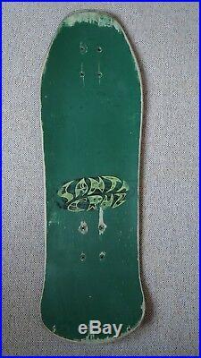 Santa Cruz Street Creep Skateboard Oldschool 1987 Vintage Rarität