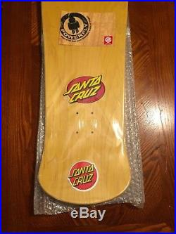Santa Cruz Street Creep Skateboard Reissue Vintage NOS Deck In Shrink