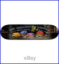 Santa Cruz TMNT Teenage Mutant Ninja Turtles Movie Poster Slick Skateboard Deck