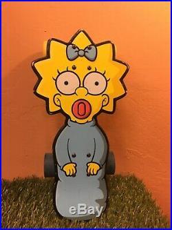 Santa Cruz The Simpsons Maggie skateboard, Venture, Arbor, Seismic