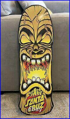 Santa Cruz Tiki Face Rob Roskopp Skateboard Deck Jim Phillips