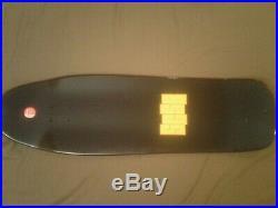 Santa Cruz Tom Knox Cop Beater reissue skateboard deck Black New