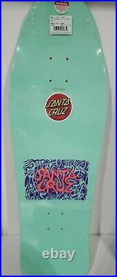 Santa Cruz Tom Knox Firepit 10 x 31 Old School Reissue Skateboard Deck SOLD OUT