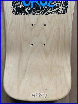 Santa Cruz Tom Knox Firepit OG Natural Skateboard