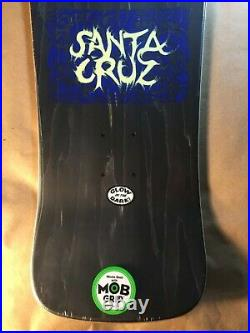 Santa Cruz Tom Knox Firepit Reissue Glow in the Dark Skateboard Deck