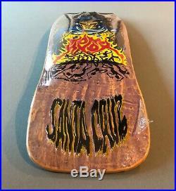 Santa Cruz Tom Knox Ghoul deck NOS 1989
