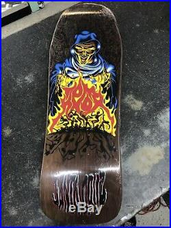 Santa Cruz Tom Knox Reissue Skateboard Deck Brown New In Shrink