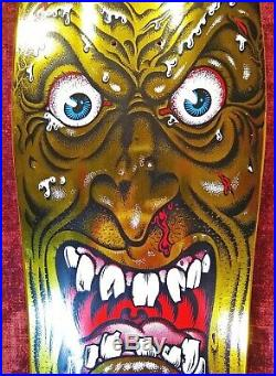 Santa Cruz / Vans Exclusive / Rob Roskopp / Face Gold Foil / Reissue Deck
