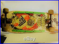Santa Cruz Vintage Original Rob Roskopp OG Target III Skateboard