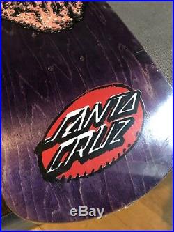 Santa Cruz Vintage Skateboard Street Creep NOS Kendall Jessee Grosso No Reissue