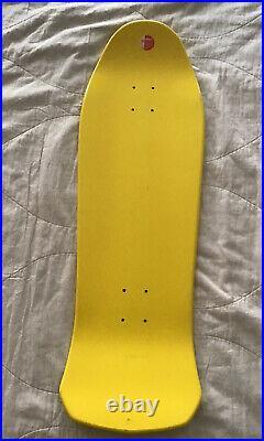 Santa Cruz Witch Doctor Steve Alba Salba Voodoo Deck Vintage Rare Yellow Custom