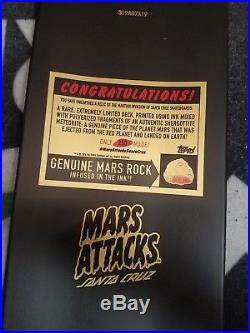 Santa Cruz X Mars Attacks Maid Of Mars Ltd Collectible Skateboard Deck