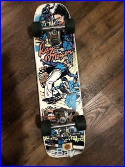 Santa Cruz freestyle skateboard Vintage Nos Independent Ray Meyer Pink Girl's