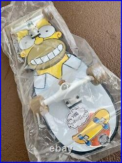Santa Cruz skateboard Homer Simpson deck complete rare limited collectible