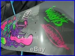 Santa Cruz skateboard Keith Meek Slasher Blacklight Re-Issue Deck rare limited