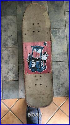 Santa Cruz skateboard everslick Jeff Kendal 1990