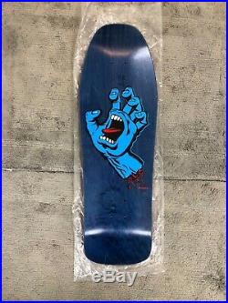 Santa Cruz skateboards 30th Anniversary screaming hand Jeff Phillips Model deck