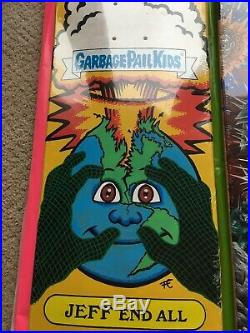 Santa Cruz skateboards /Garbage Pail Kids skateboard deck 1/1 artist deck