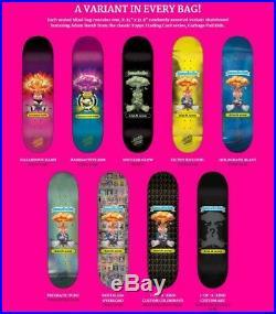 Santa Cruz x Garbage Pail Kids GPK Nostalgia Overload Crazy Rare Skateboard Deck