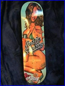 Santa Cruz x Rockin Jelly Bean complete series skateboard deck lot NOS, Rare