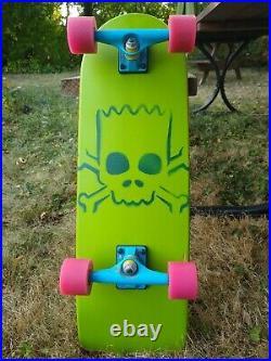 Santa Cruz x The Simpsons Bart Simpson 27 Cruiser Skateboard