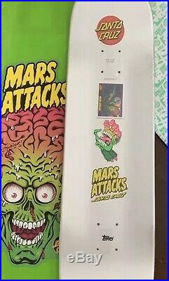 Santa Cruz x Topps Mars Attacks Deck VERY RARE Collectors Blacklight Reaper