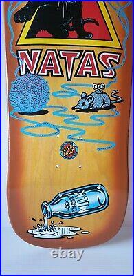 Santa Monica Airlines Natas Kitten Skateboard Deck SMA Santa Cruz