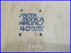 Santa Monica Airlines rare anniversary skateboard deck alva santa cruz powel
