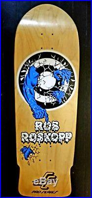Santa cruz Rob Roskopp Target Skateboard Deck, 30 F-ing Years